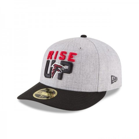 ATLANTA FALCONS NFL DRAFT ON STAGE LOW PROFILE 59FIFTY FITTED
