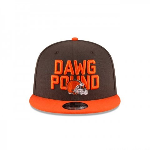 CLEVELAND BROWNS KIDS SPOTLIGHT 9FIFTY SNAPBACK - Sale