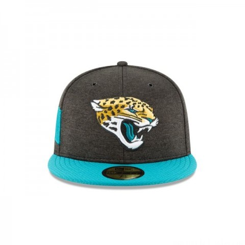 JACKSONVILLE JAGUARS OFFICIAL SIDELINE HOME 59FIFTY FITTED