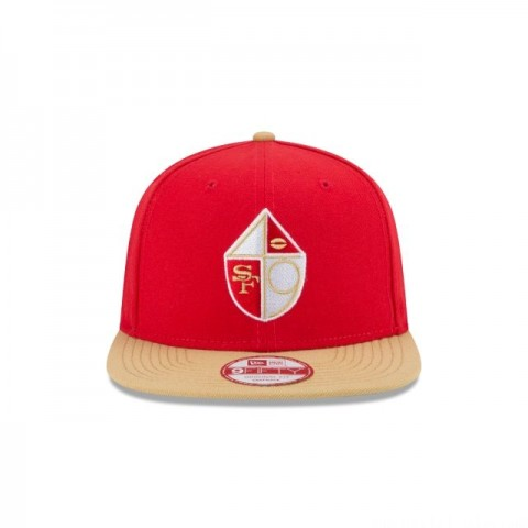 SAN FRANCISCO 49ERS HISTORIC 9FIFTY SNAPBACK