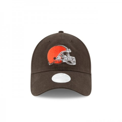 WOMENS CLEVELAND BROWNS PREFERRED PICK 9TWENTY ADJUSTABLE - Sale