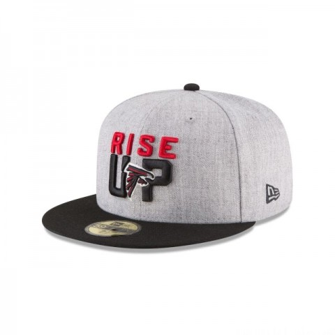 ATLANTA FALCONS NFL DRAFT 59FIFTY FITTED
