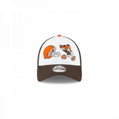 KIDS CLEVELAND BROWNS MICKEY MOUSE 9TWENTY ADJUSTABLE - Sale