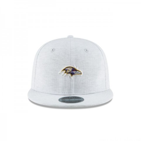 BALTIMORE RAVENS MICRO STITCH 9FIFTY SNAPBACK