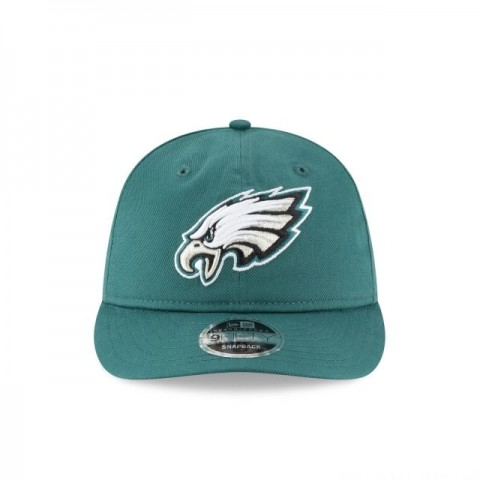 PHILADELPHIA EAGLES TEAM CHOICE RETRO CROWN 9FIFTY SNAPBACK - Sale