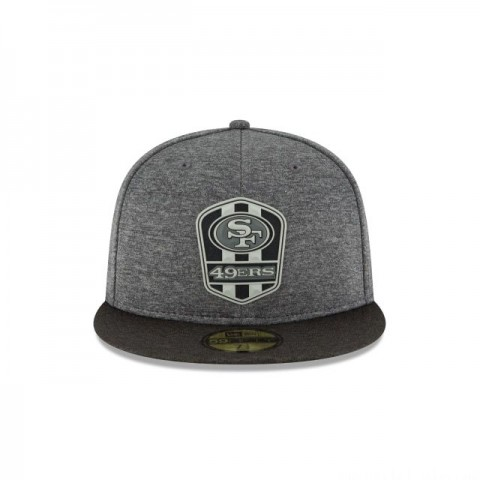 SAN FRANCISCO 49ERS NFL SIDELINE ROAD 59FIFTY FITTED
