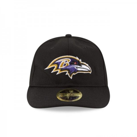 BALTIMORE RAVENS FAN FIT RETRO CROWN 59FIFTY FITTED