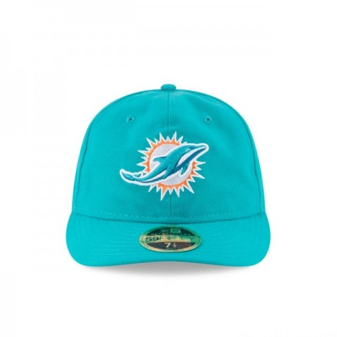 MIAMI DOLPHINS FAN FIT RETRO CROWN 59FIFTY FITTED - Sale