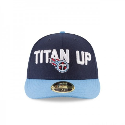TENNESSEE TITANS SPOTLIGHT LOW PROFILE 59FIFTY FITTED