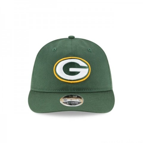 GREEN BAY PACKERS TEAM CHOICE RETRO CROWN 9FIFTY SNAPBACK