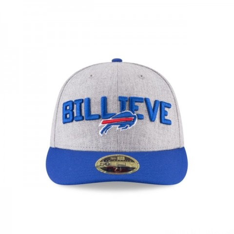 BUFFALO BILLS NFL DRAFT ON STAGE LOW PROFILE 59FIFTY FITTED - Sale