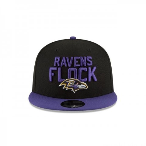BALTIMORE RAVENS KIDS SPOTLIGHT 9FIFTY SNAPBACK - Sale