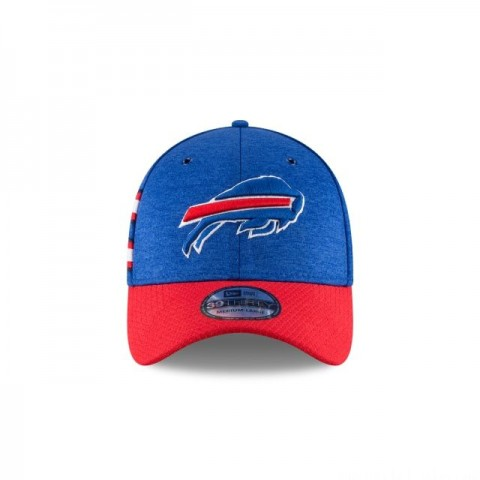 BUFFALO BILLS OFFICIAL SIDELINE HOME 39THIRTY STRETCH FIT - Sale