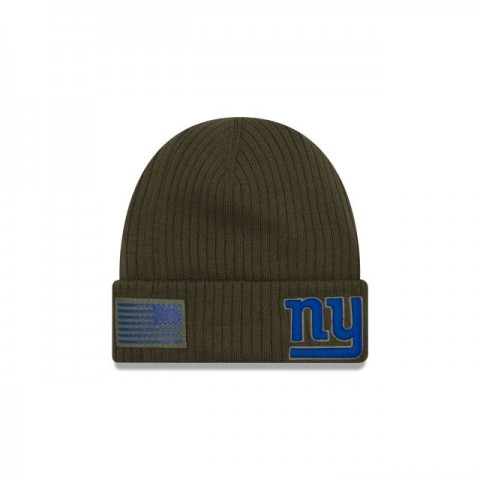 NEW YORK GIANTS SALUTE TO SERVICE CUFF KNIT