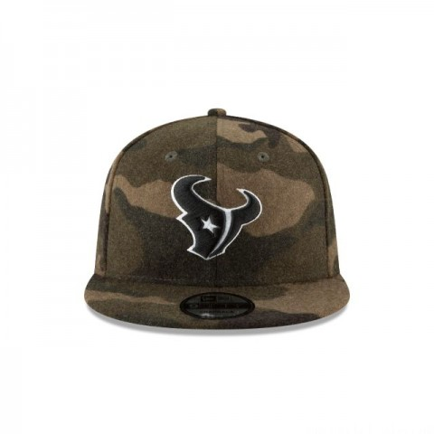 HOUSTON TEXANS NFL CAMO MELTON 9FIFTY SNAPBACK