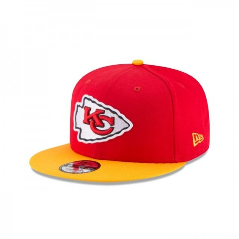 KANSAS CITY CHIEFS AFC SIDE PATCH 9FIFTY SNAPBACK