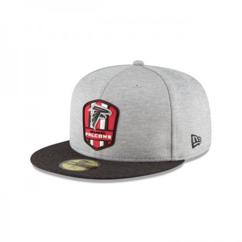 ATLANTA FALCONS OFFICIAL SIDELINE ROAD KIDS 59FIFTY FITTED
