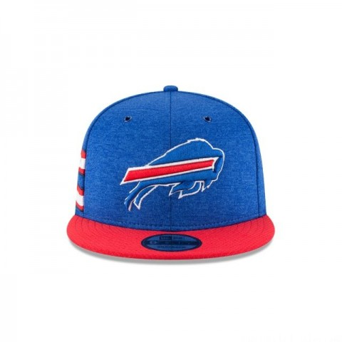 BUFFALO BILLS OFFICIAL SIDELINE HOME 9FIFTY SNAPBACK - Sale