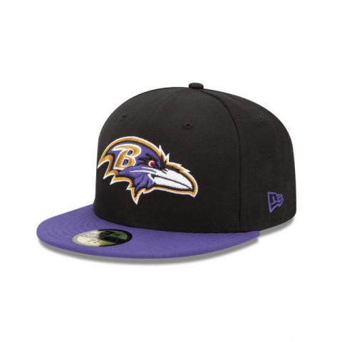BALTIMORE RAVENS 59FIFTY FITTED