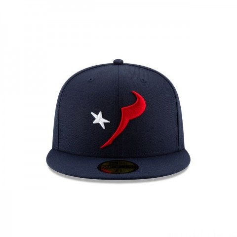 HOUSTON TEXANS NFL LOGO ELEMENTS 59FIFTY FITTED