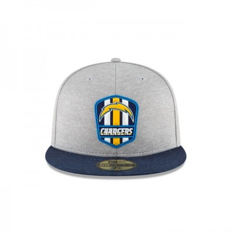 LOS ANGELES CHARGERS OFFICIAL SIDELINE ROAD 59FIFTY FITTED - Sale