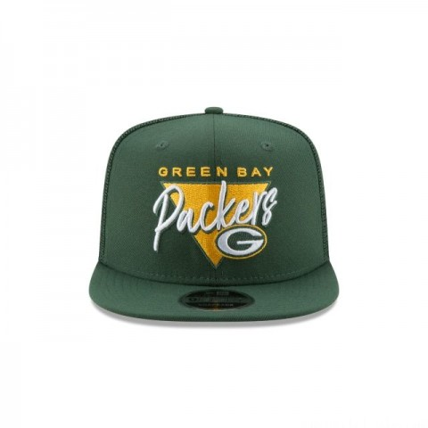 GREEN BAY PACKERS FRESH FRONT HIGH CROWN 9FIFTY SNAPBACK - Sale