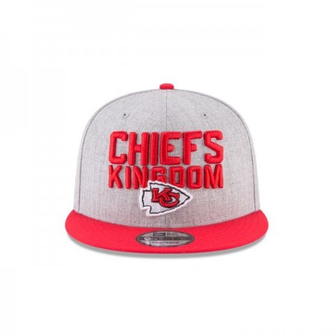 KANSAS CITY CHIEFS KIDS NFL DRAFT 9FIFTY SNAPBACK