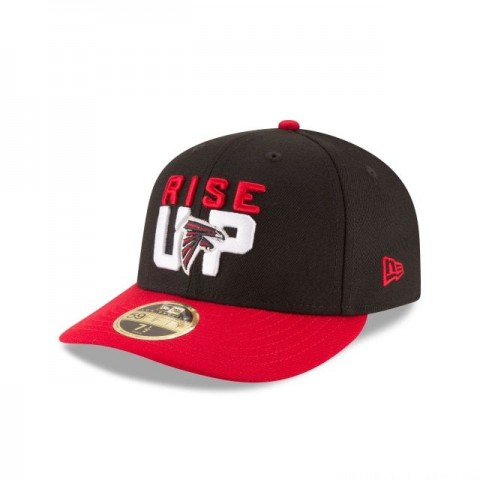 ATLANTA FALCONS SPOTLIGHT LOW PROFILE 59FIFTY FITTED