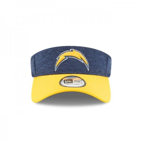 LOS ANGELES CHARGERS OFFICIAL SIDELINE HOME VISOR - Sale