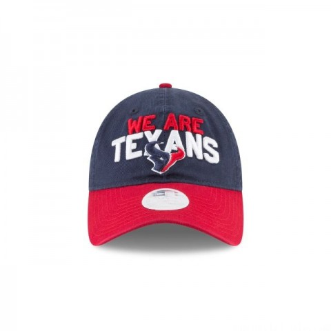 HOUSTON TEXANS WOMENS SPOTLIGHT 9TWENTY ADJUSTABLE