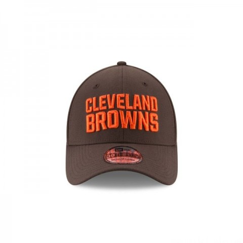 KIDS CLEVELAND BROWNS TEAM CLASSIC 39THIRTY STRETCH FIT - Sale