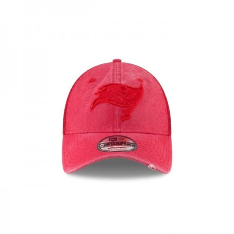 TAMPA BAY BUCCANEERS TONAL WASHED TRUCKER 9TWENTY ADJUSTABLE
