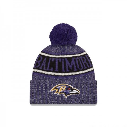 BALTIMORE RAVENS REVERSED COLD WEATHER SPORT KNIT