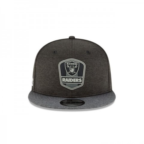 OAKLAND RAIDERS NFL SIDELINE ROAD 9FIFTY SNAPBACK - Sale