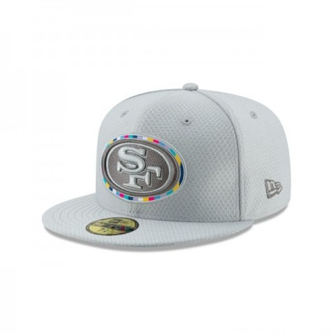 SAN FRANCISCO 49ERS CRUCIAL CATCH 59FIFTY FITTED