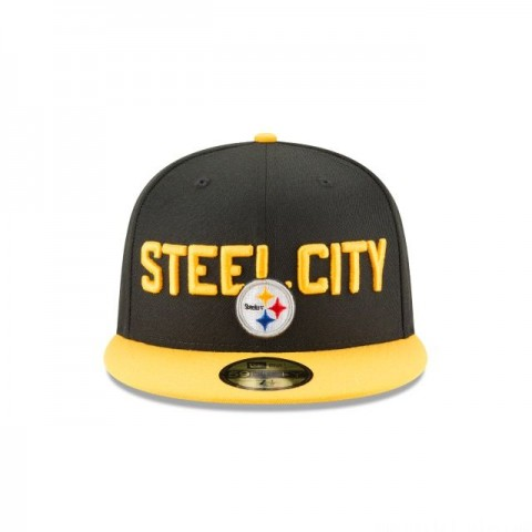 PITTSBURGH STEELERS SPOTLIGHT 59FIFTY FITTED - Sale