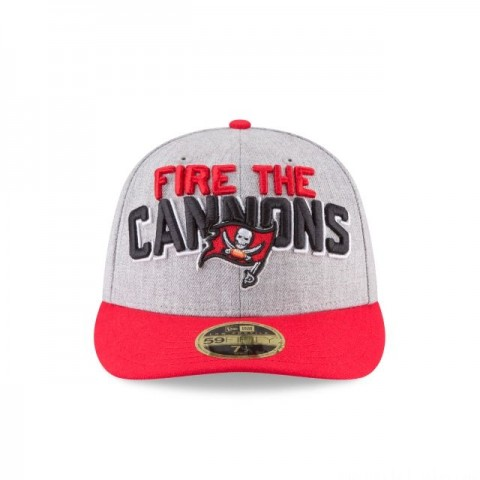 TAMPA BAY BUCCANEERS NFL DRAFT ON STAGE LOW PROFILE 59FIFTY FITTED