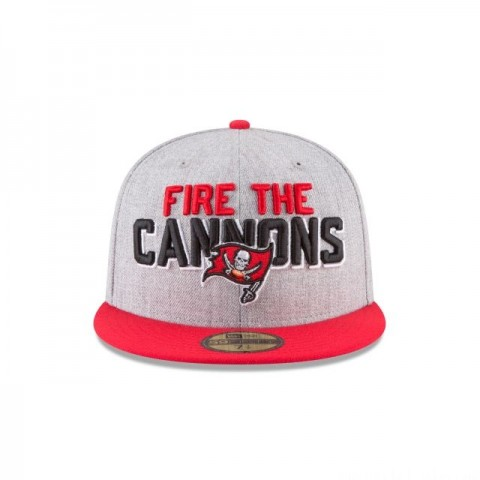 TAMPA BAY BUCCANEERS NFL DRAFT 59FIFTY FITTED
