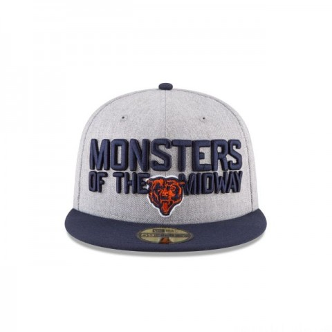 CHICAGO BEARS NFL DRAFT 59FIFTY FITTED