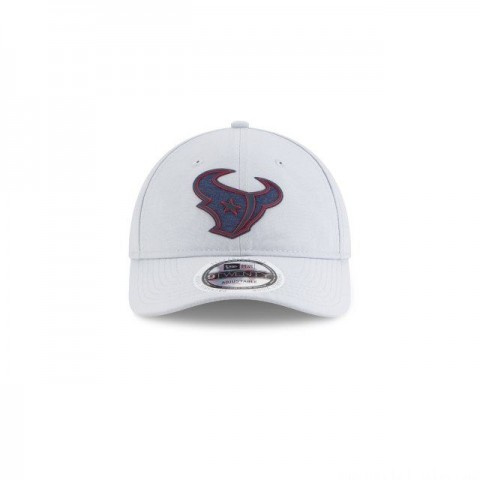 HOUSTON TEXANS NFL TRAINING GREY 9TWENTY ADJUSTABLE