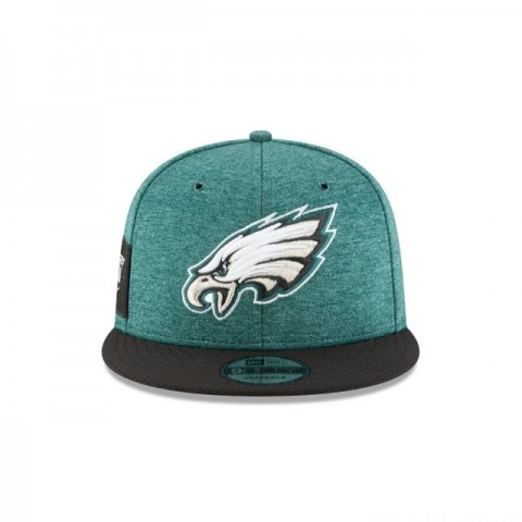 PHILADELPHIA EAGLES OFFICIAL SIDELINE HOME 9FIFTY SNAPBACK - Sale