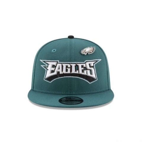 PHILADELPHIA EAGLES PINNED SNAP 9FIFTY SNAPBACK - Sale