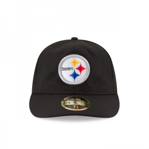 PITTSBURGH STEELERS FAN FIT RETRO CROWN 59FIFTY FITTED - Sale