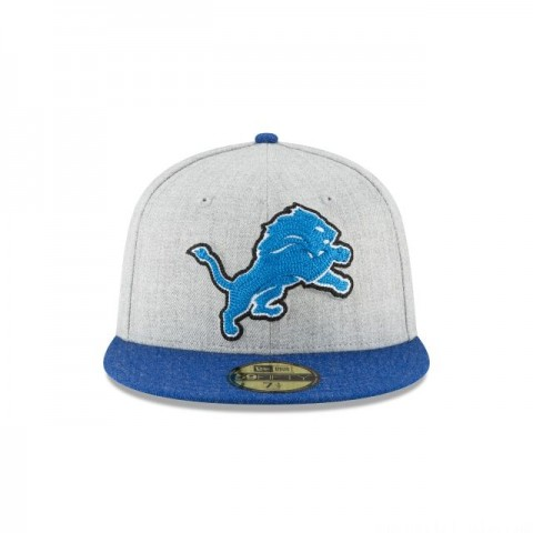 DETROIT LIONS HEATHER CRISP 59FIFTY FITTED - Sale