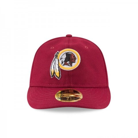 Throwback Washington Redskins Mesh 9Fifty Snapback Cap wood
