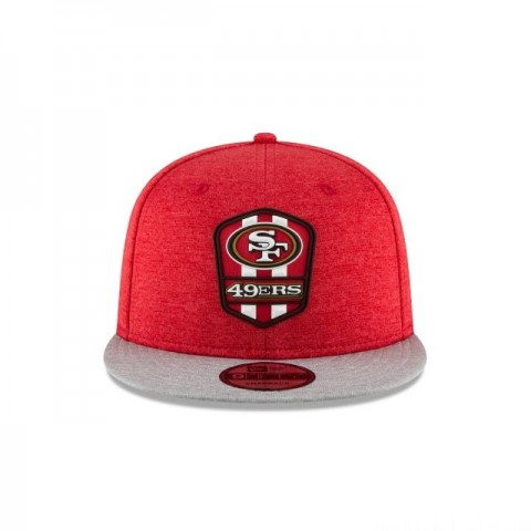 SAN FRANCISCO 49ERS OFFICIAL SIDELINE ROAD 9FIFTY SNAPBACK