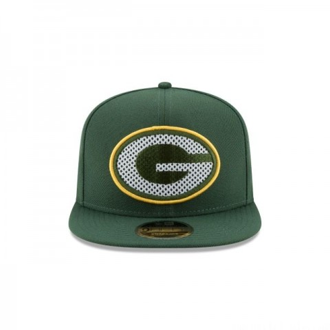GREEN BAY PACKERS MESH MIX 9FIFTY ORIGINAL FIT SNAPBACK - Sale
