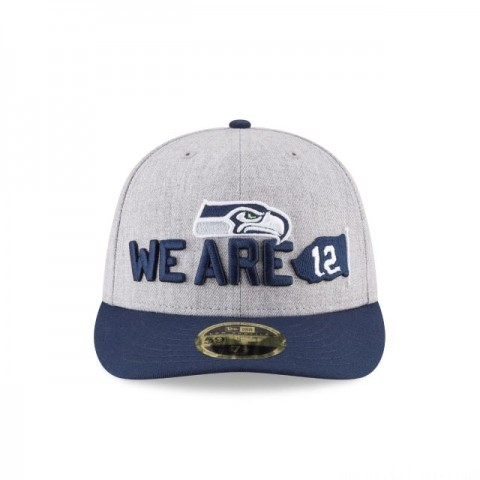 SEATTLE SEAHAWKS NFL DRAFT ON STAGE LOW PROFILE 59FIFTY FITTED