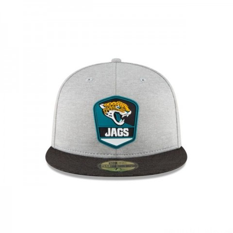 JACKSONVILLE JAGUARS OFFICIAL SIDELINE ROAD 59FIFTY FITTED