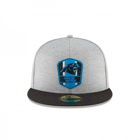 CAROLINA PANTHERS OFFICIAL SIDELINE ROAD 59FIFTY FITTED